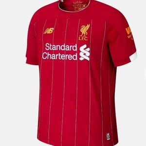 NWT NEW BALANCE LIVERPOOL FC HOME SS JERSEY